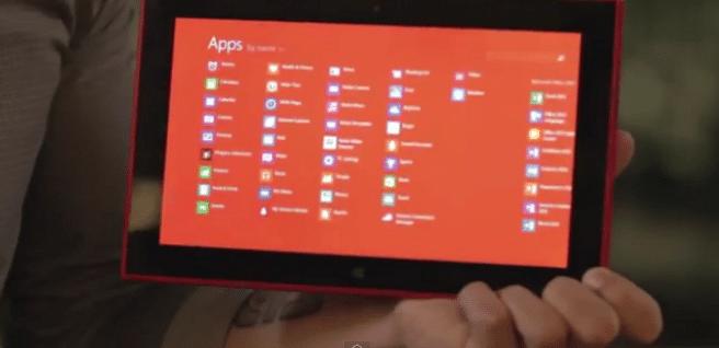 Lumia 2520 apps