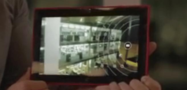 Lumia 2520 camara