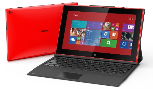 Lumia 2520 comparativa