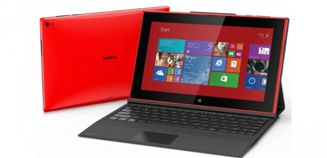 Lumia 2520 teclado