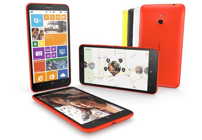 Nokia Lumia 1320 press