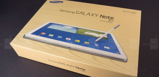 Galaxy Note 10.1 2014 video
