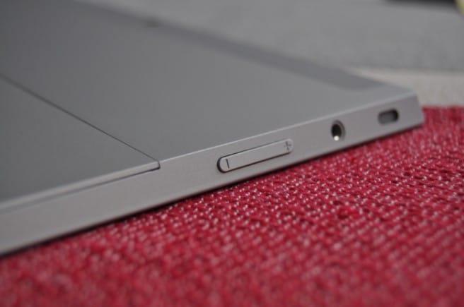 Surface 2 perfil izquierdo