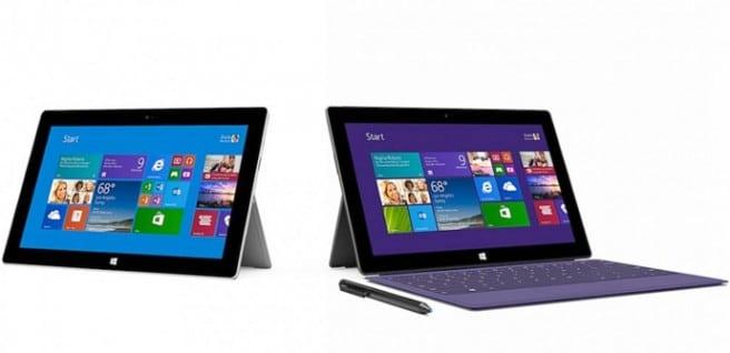 Surface 2 vs Surface Pro 2