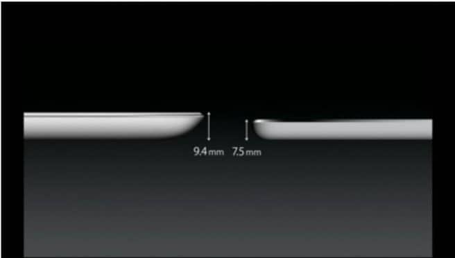 iPad Air Diseño