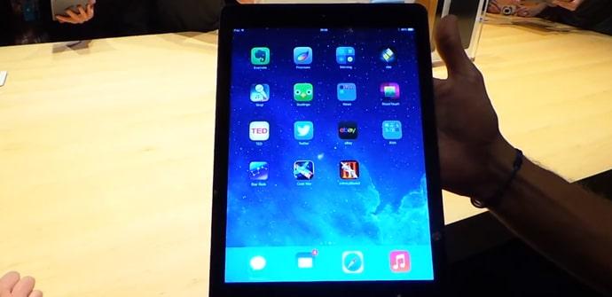 iPad Air hands on