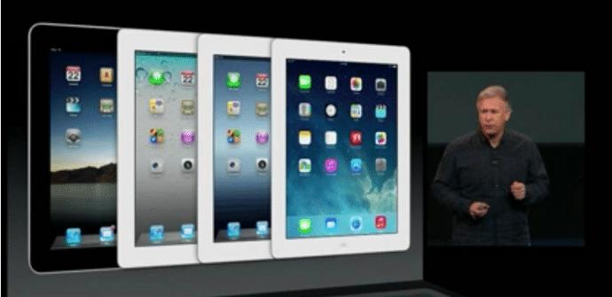 iPad diferentes generaciones