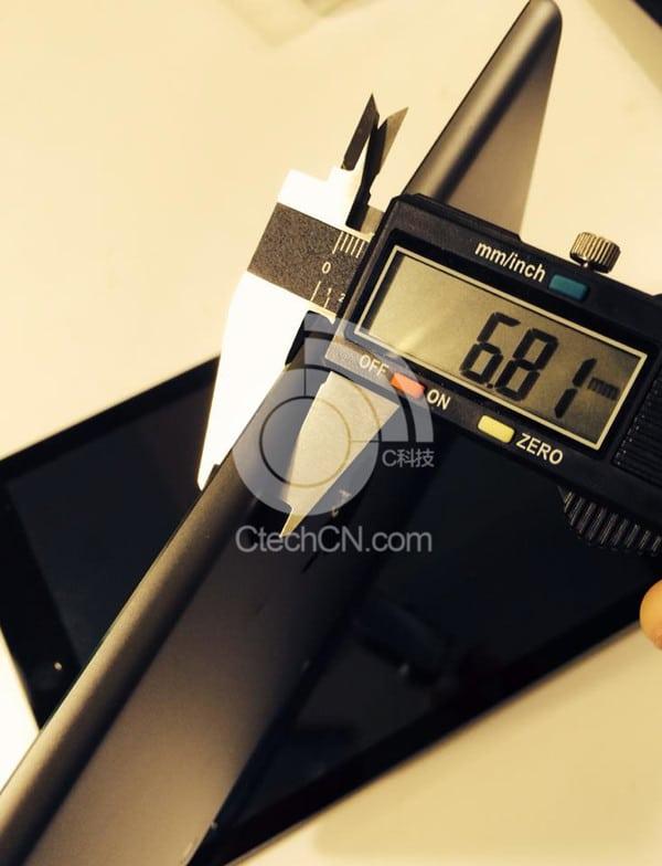 iPad mini 2 grosor