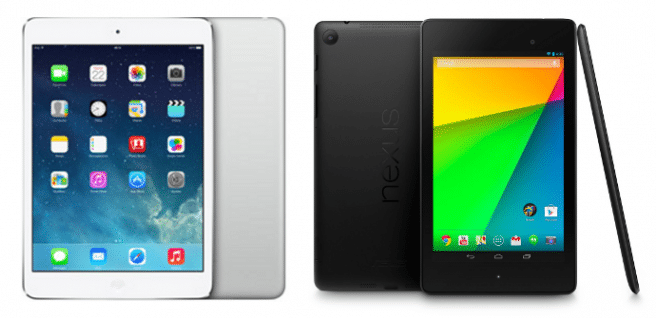 iPad mini Retina vs Nexus 7 2013