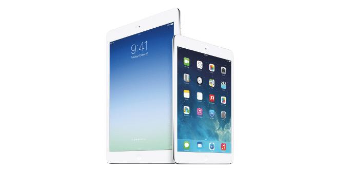 iPad mini Retina vs iPad Air