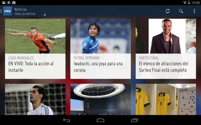 FIFA app noticia