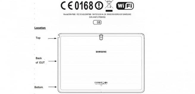 Galaxy Note 12.2 LTE FCC