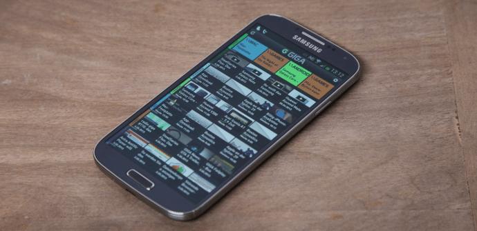 Galaxy S4 madera