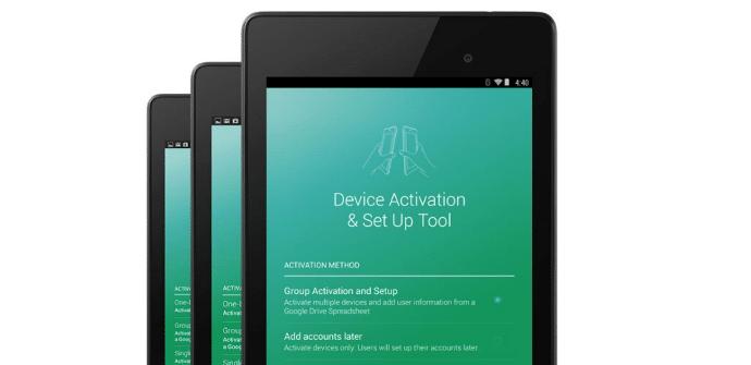 Google tablets eduacion