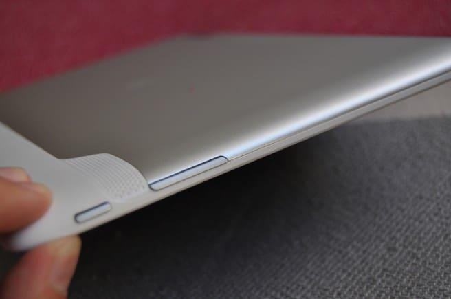 Huawei MediaPad lateral