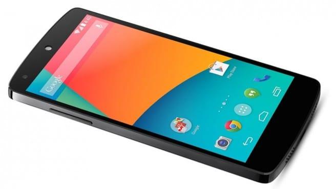 Nexus 5 comparativa