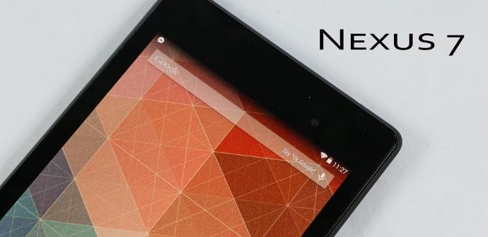 Nexus 7 transparente