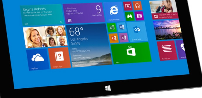 Surface 2 screen