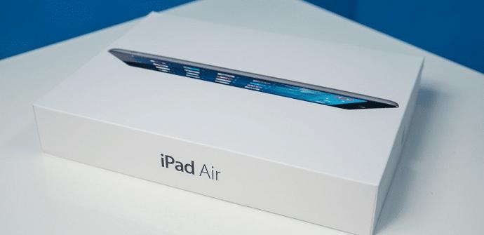 iPad Air prueba de resistencia