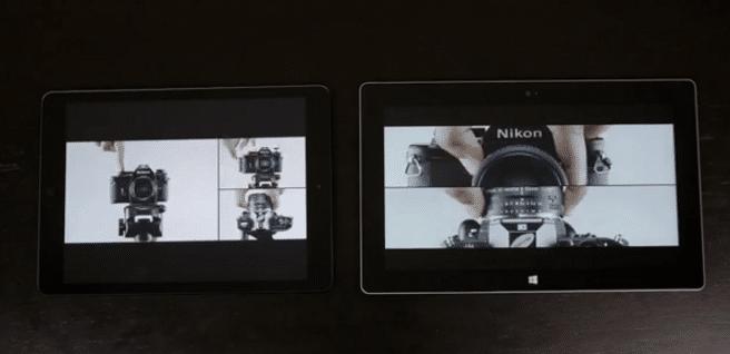 iPad Air vs Surface 2 diseño