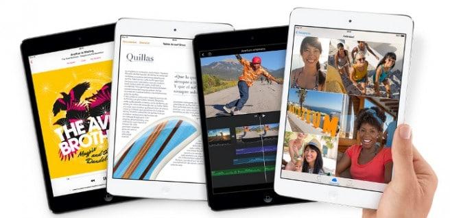 iPad mini retina lanzamiento