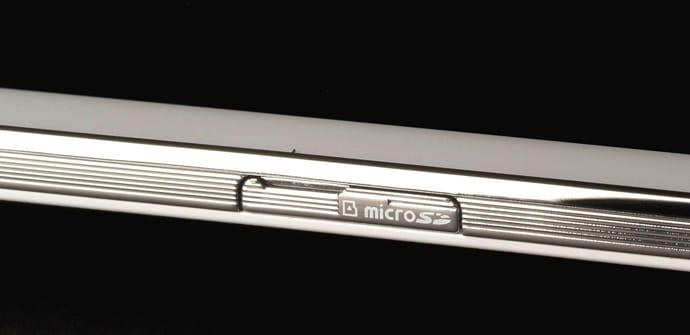 ranura micro SD tablets