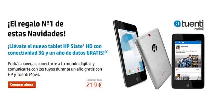 HP Slate 7 HD Tuenti Movil