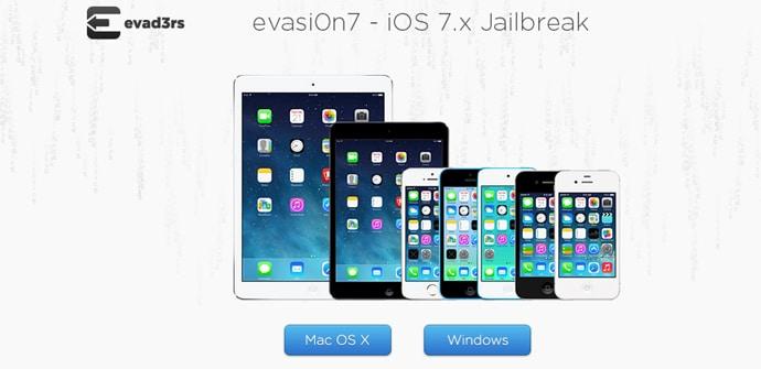 Jailbreak iOS 7 evasi0n7