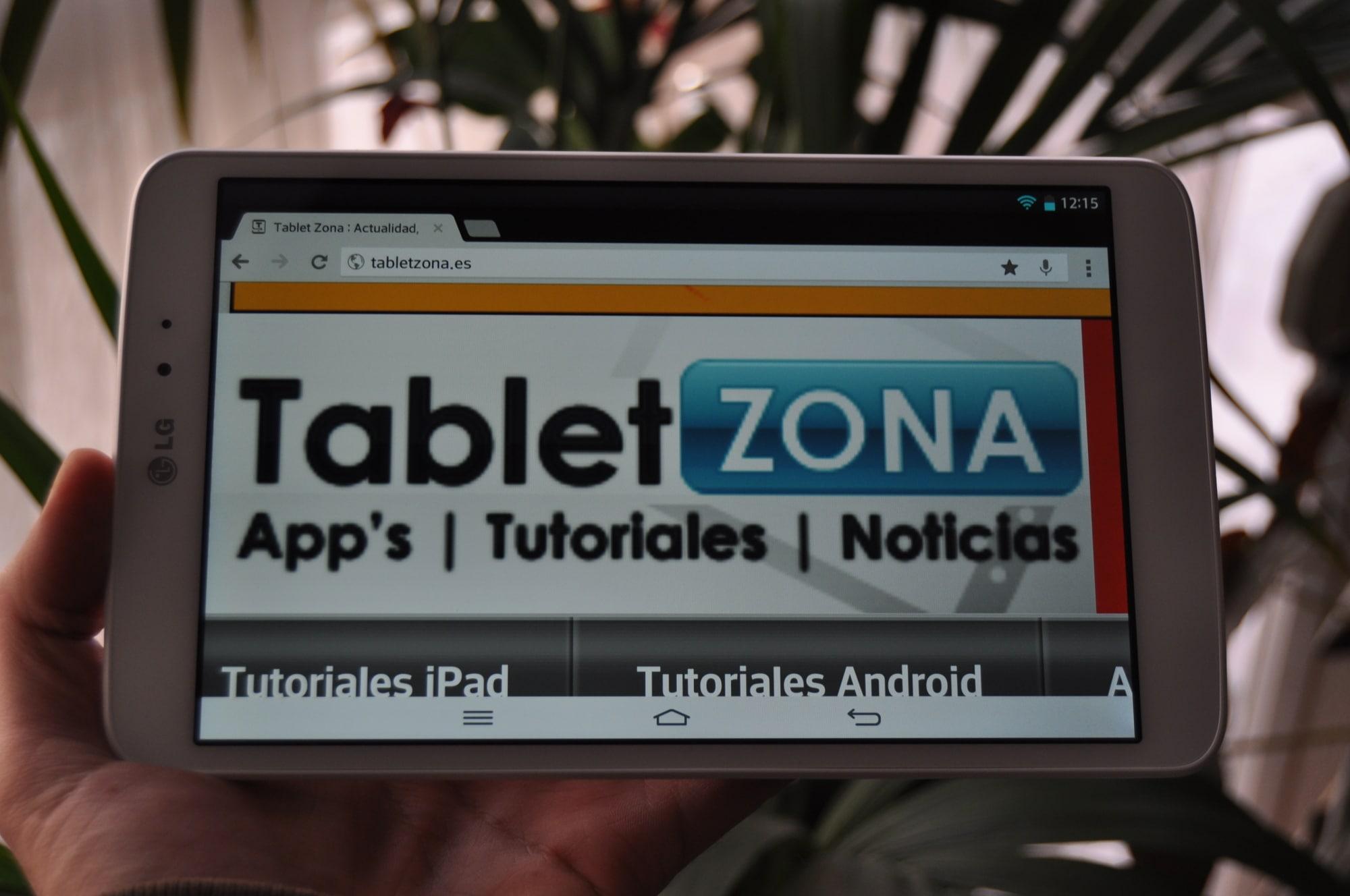 LG G Pad 8.3 analisis TabletZona