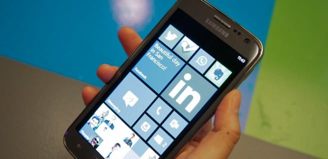 Samsung phablet Windows Phone