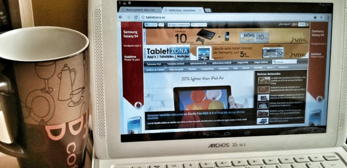 Tablet Archos prueba