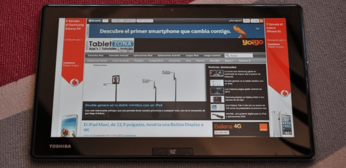 Toshiba WT310 Windows 8 tablet