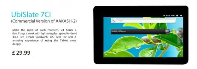 UbiSlate 7Ci tablet mas barata