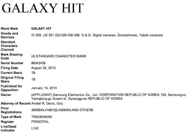 galaxy-hit patente