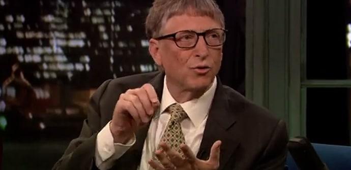 Bill Gates tablets escritura