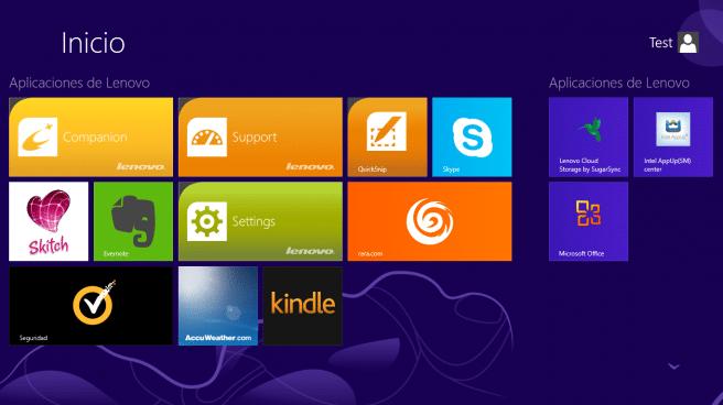 Lenovo ThinkPad Tablet 2 apps