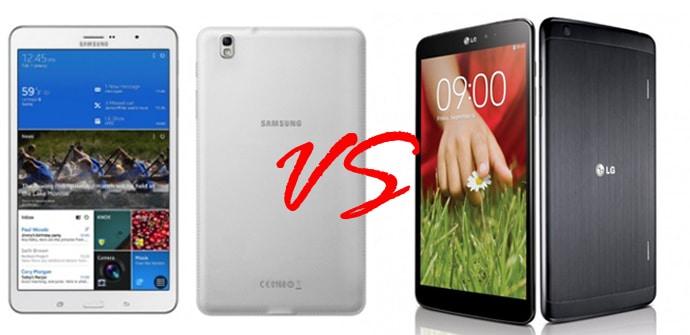 Galaxy TabPRO 84 VS LG G Pad 83