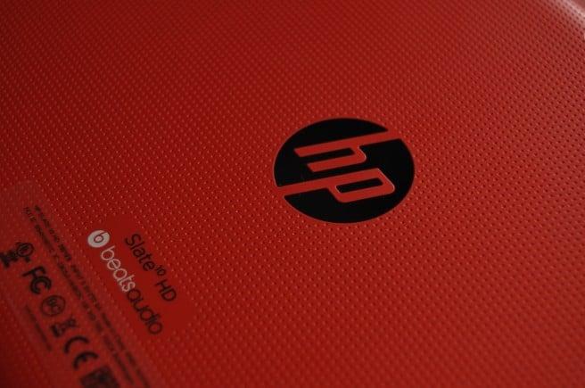HP Slate 10 logo trasera