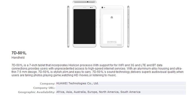 Huawei 7D-501L