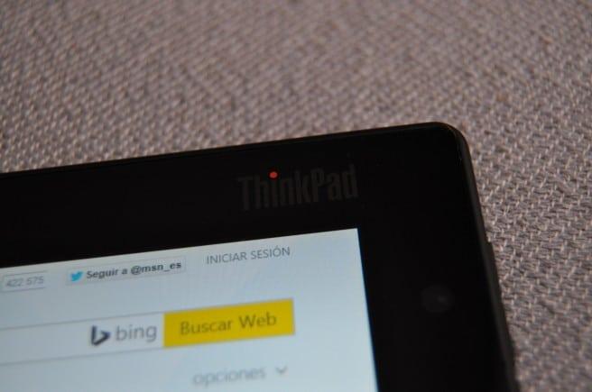 Lenovo ThinkPad Tablet 2 frontal