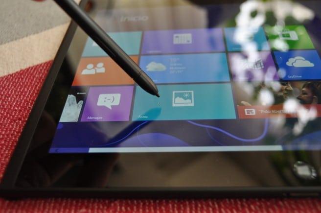 Lenovo ThinkPad Tablet 2 lapiz pantalla