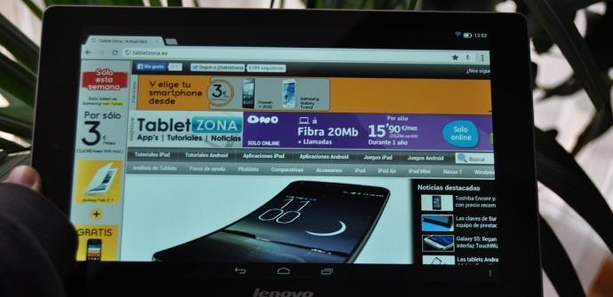 Lenovo Yoga Tablet 10 analisis