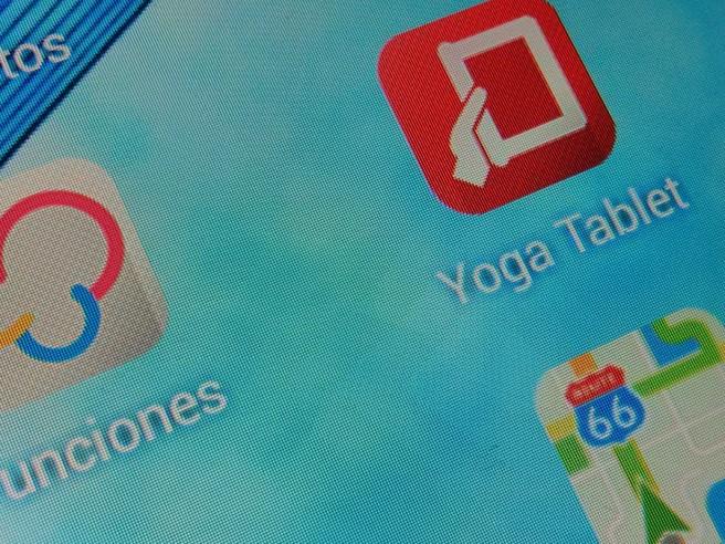 Lenovo Yoga Tablet pixeles