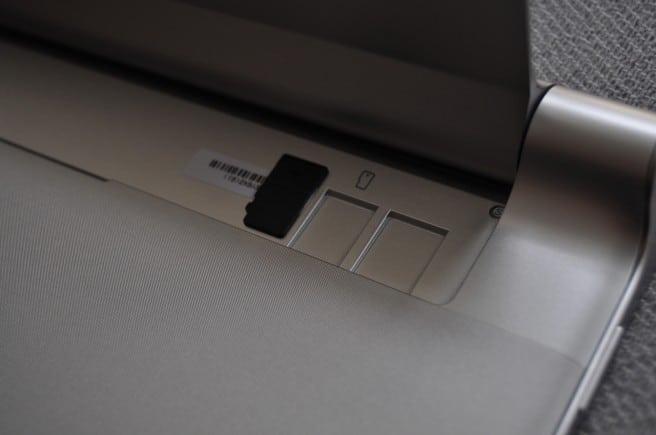Lenovo Yoga tarjeta SD