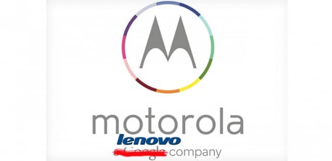 Motorola venta Lenovo