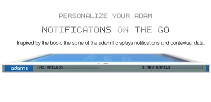 NotionInk Adam II segunda pantalla