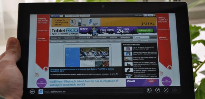 Prueba ThinkPad Tablet 2