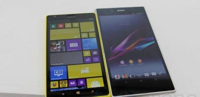 Xperia Z Ultra vs Lumia 1520