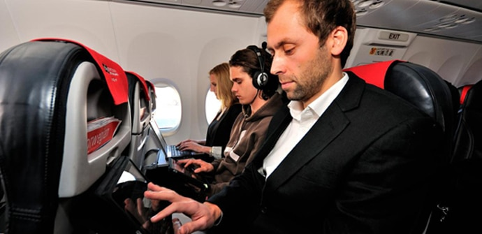 tablets en aviones