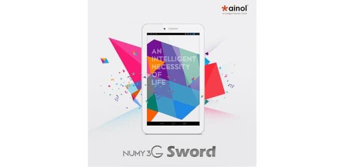 Ainol Numy 3G Sword frontal